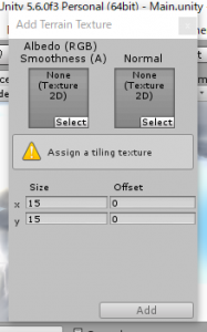 Terrain/Add Terrain Texture