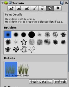 Terrain/detailsボタン