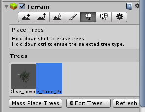 Terrain/ツリーボタン