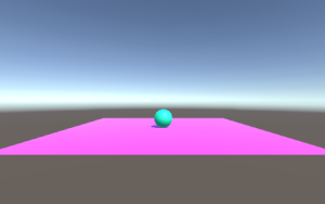 Flying Ball/Sphere&PlaneWithMaterial