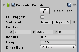 Person Control/Capsul Collider