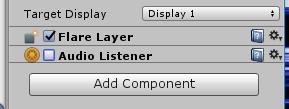 Audio Listenerのチェックボックスをオフ