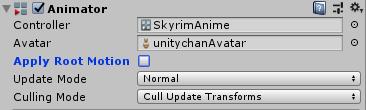 SkyrimController/Animator/Apply Root Motion