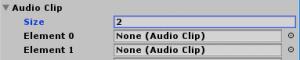 SkyrimController/AudioClipの配列