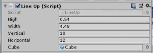 縦横規則正しく/LineUp/Inspector