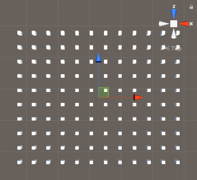 縦横規則正しく/Cube/Prefab/縦横生成