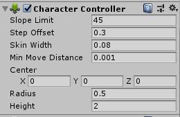 ProBuilder階段/CharacterController