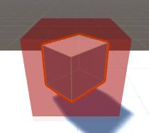 Scene/スクリプト/ギズモの立方体