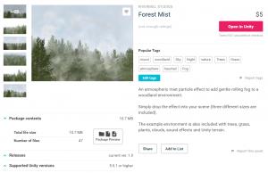 Forest Mist/アセットストア