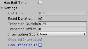 Animator Controller/Any State/Has Exit TimeとSettingsのCan Transition To