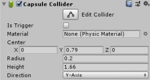 もっとスカイリム風/Capsule Collider設定