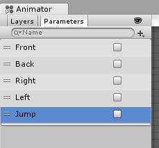 もっとスカイリム風/Animator Controller/Parameters