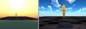 Skybox変更/カメラごと