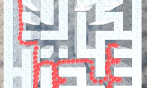 フリーゲーム「一人称で生成迷路脱出」を公開しました