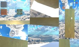 【UnityC#講座】キューブの周りを張り付いて移動できるようにした