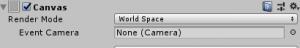 RawImage/Canvas/WorldSpace