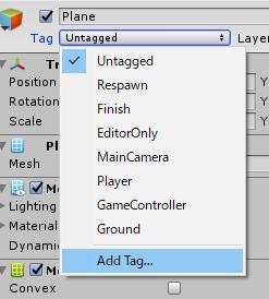 左右で方向転換/Add Tag