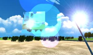 【UnityC#講座】Render Textureでゲーム内にディスプレイを作る、Lens Flareで太陽を作る
