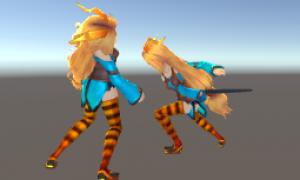 【UnityC#講座】無料アセットでユニティちゃんに剣を振らせる