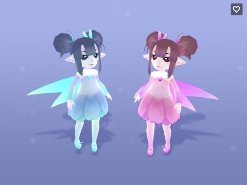 Flower fairy Des/トップ