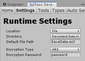 EasySave/暗号化/パスワード
