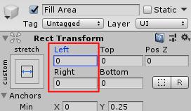 SliderHPBar/Fill Area/Rect Transform
