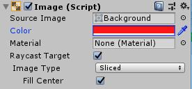 SliderHPBar/Background/Imageコンポーネント