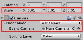 SliderHPBar/Canvas/RenderMode/WorldSpace/Rect Transform/Scale