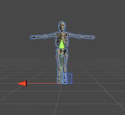 人体骨格Humanoid/Pivot/真正面