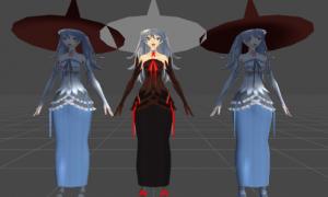 【魔女の帽子問題】BlenderでウェイトをつけたらUnityでマテリアルの色が出なくなった問題【解決】