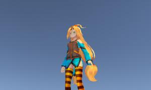 【UnityC#講座】3D人型モデルを三人称視点で動かす操作を改良